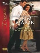 Mistress for a Month ebook by Ann Major