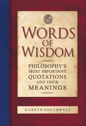 Words of Wisdom ebook by Gareth Southwell