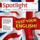 Englisch lernen Audio - Teste dein Englisch - Spotlight Audio 9/13 - Test your English audiobook by