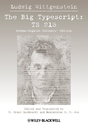 Big Typescript - TS 213 ebook by Ludwig Wittgenstein,C. Grant Luckhardt,Maximilian E. Aue