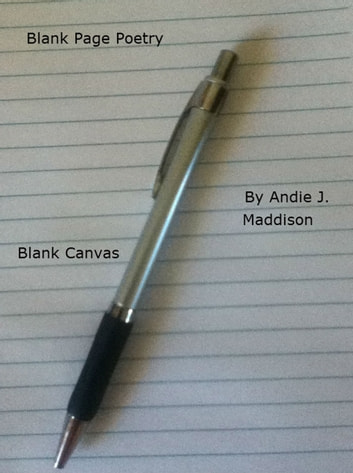 Blank Page Poetry - Blank Canvas ebook by Andie J. Maddison