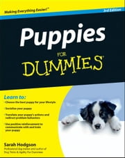 Puppies For Dummies ebook by Sarah Hodgson