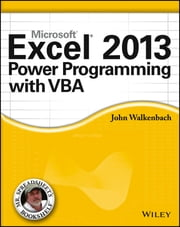 Excel 2013 Power Programming with VBA ebook by John Walkenbach