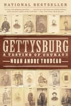 Gettysburg - A Testing of Courage ebook by Noah Andre Trudeau