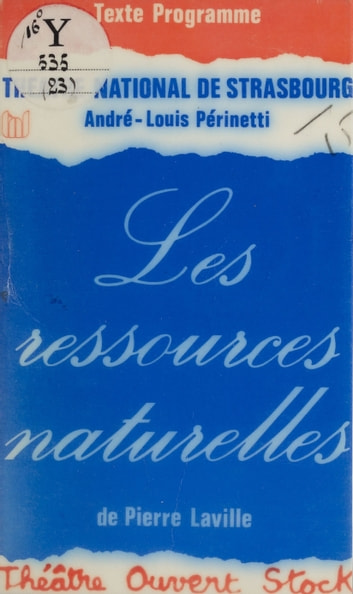 Les Ressources naturelles ebook by Pierre Laville