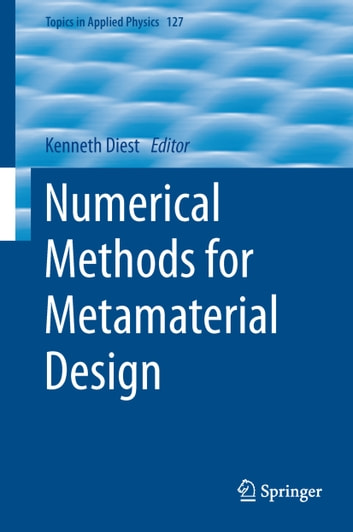 Numerical Methods for Metamaterial Design ebook by