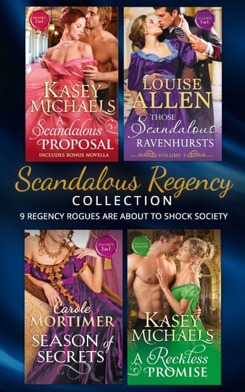 Scandalous Regency Secrets Collection Mills Boon E Book
