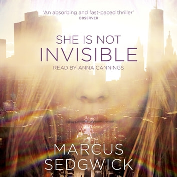She Is Not Invisible audiobook by Marcus Sedgwick
