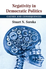 Negativity in Democratic Politics - Causes and Consequences ebook by Stuart N. Soroka