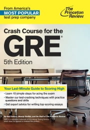 Crash Course for the GRE, 5th Edition ebook by Princeton Review