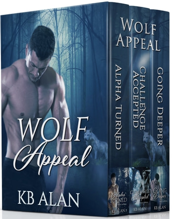 Wolf Appeal Series - Books 1-3 ebook by KB Alan