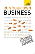 Run Your Own Business: Teach Yourself Ebook Epub ekitaplar by Kevin Duncan