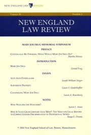 New England Law Review: Volume 50, Number 3 - Spring 2016 ebook by New England Law Review