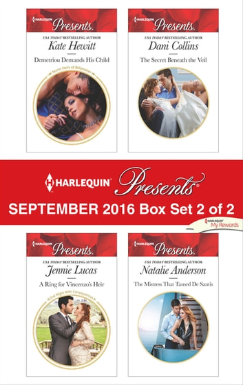 Harlequin Presents September 2016 - Box Set 2 of 2 - An Anthology eBook by Kate Hewitt,Jennie Lucas,Dani Collins,Natalie Anderson