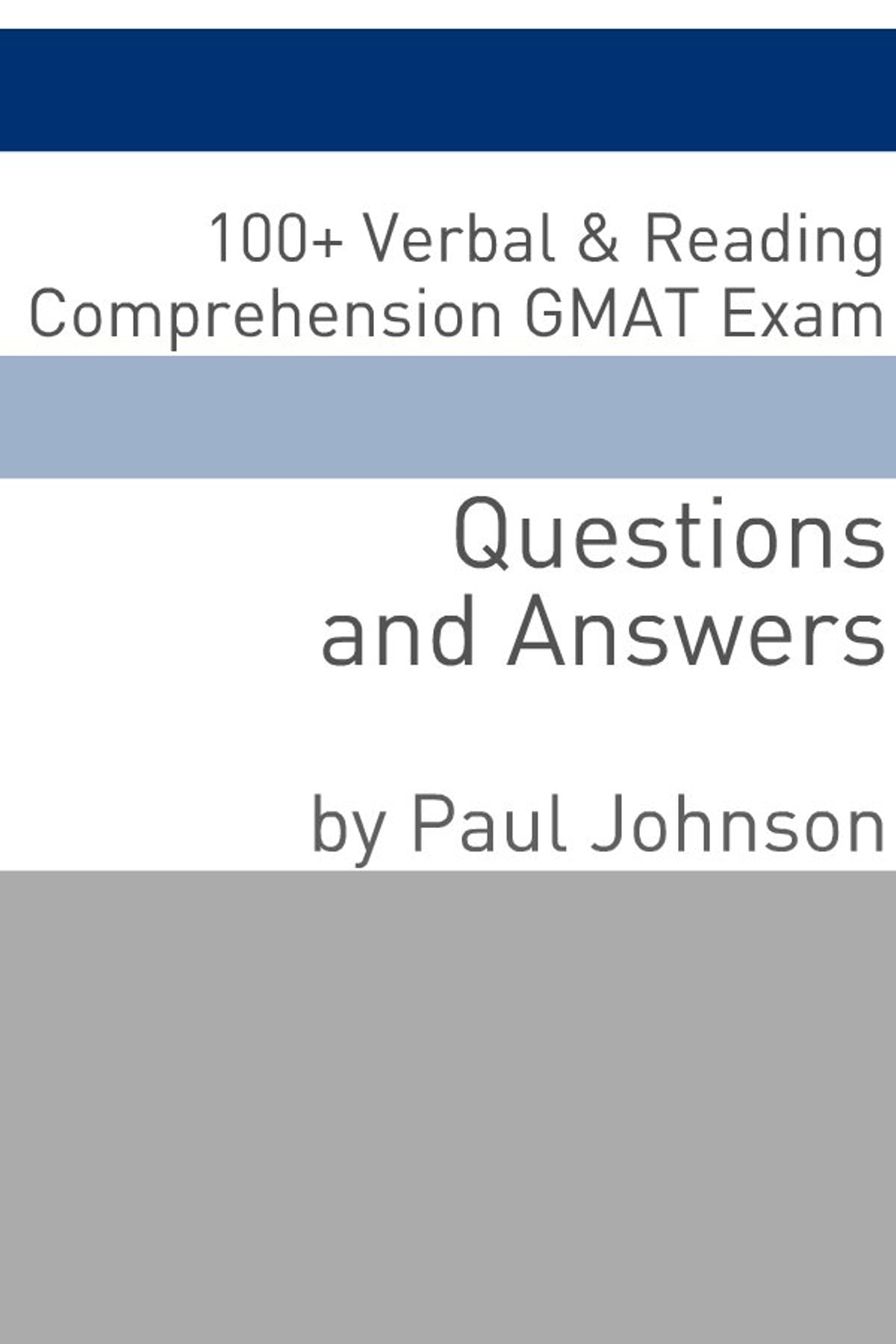 100+ Verbal & Reading Comprehension GMAT Exam Questions and Answers eBook  by Minute Help - 9781610427562 | Rakuten Kobo
