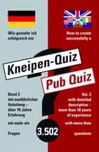 How to create successfully a Pub Quiz ebook by