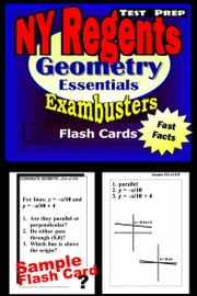 NY Regents Geometry Test Prep Review--Exambusters Flashcards - New York Regents Exam Study Guide ebook by Regents Exambusters