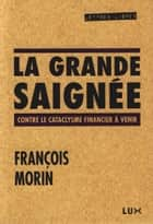 La grande saignée - Contre le cataclysme financier à venir ebook by François Morin