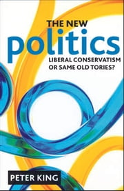 The new politics - Liberal Conservatism or same old Tories? ebook by Peter King