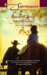 Back in Texas ebook by Roxanne Rustand