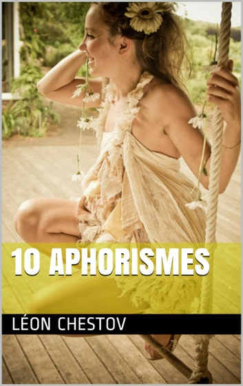 10 aphorismes ebook by Léon Chestov