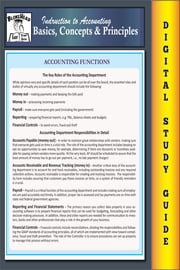 Accounting Basics, Concepts & Principles (Blokehead Easy Study Guide) ebook by The Blokehead
