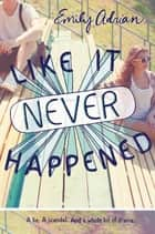 Like It Never Happened ebook by Emily Adrian