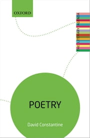 Poetry: The Literary Agenda ebook by David Constantine