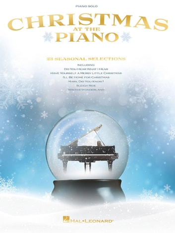 Christmas at the Piano Songbook ebook by Hal Leonard Corp.