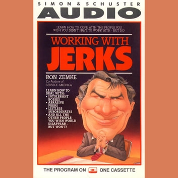 Working with Jerks audiobook by Ron Zemke