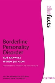 Borderline Personality Disorder ebook by Roy Krawitz,Wendy Jackson
