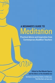 A Beginner's Guide to Meditation - Practical Advice and Inspiration from Contemporary Buddhist Teachers ebook by Rod Meade Sperry, Pema Chodron, Thich Nhat Hanh,...