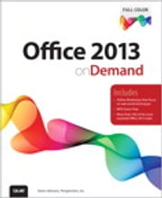 Office 2013 On Demand ebook by Steve Johnson,Perspection Inc.