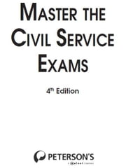 Master the Civil Service Exams ebook by Peterson's