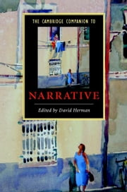 The Cambridge Companion to Narrative ebook by Herman, David