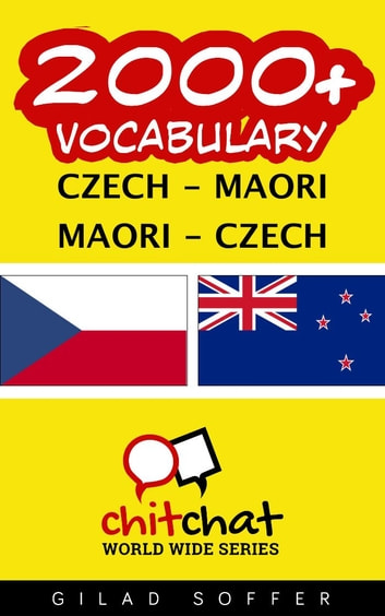 2000+ Vocabulary Czech - Maori ebook by Gilad Soffer