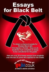 Essays for Black Belt - 20 Inspirational Student Stories ebook by Tom Hill