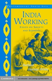 India Working ebook by Harriss-White, Barbara