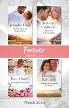 Forever Box Set 1-4 March 2020/The Prince and the Wedding Planner/Best Friend to Princess Bride/One Night to Remember/Caribbean Escape with th ebook by Kate Hardy, Jennifer Faye, Katrina Cudmore,...