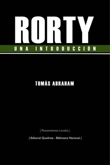 Rorty, una introducción ebook by Tomás Abraham