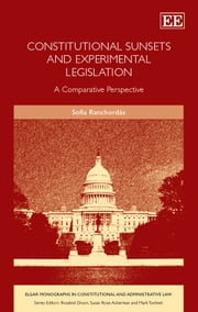 Constitutional Sunsets and Experimental Legislation - a Comparative Perspective ebook by Ranchordás,S.