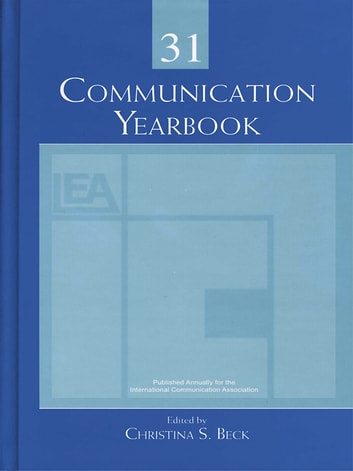 Communication Yearbook 31 ebook by