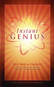 Instant Genius - Fast Food For Thought ebook by Bathroom Readers' Institute