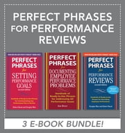 Perfect Phrases for Performance Reviews (EBOOK BUNDLE) ebook by Douglas Max,Anne Bruce,Robert Bacal,Robert Bacal