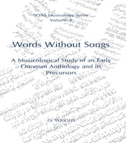 Words Without Songs ebook by O. Wright
