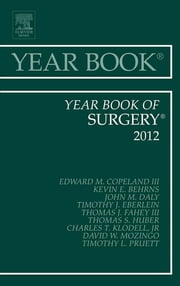Year Book of Surgery 2012 ebook by Edward M. Copeland III