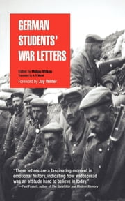 German Students' War Letters ebook by Philipp Witkop,A. F. Wedd,Jay Winter