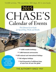 Chase's Calendar of Events 2015 ebook by Editors of Chase's Calendar of Events
