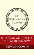 What Can We Hope for the World in 2075? ebook by Neva Goodwin, Hildegarde Hannum