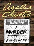 A Murder Is Announced ebook by Agatha Christie